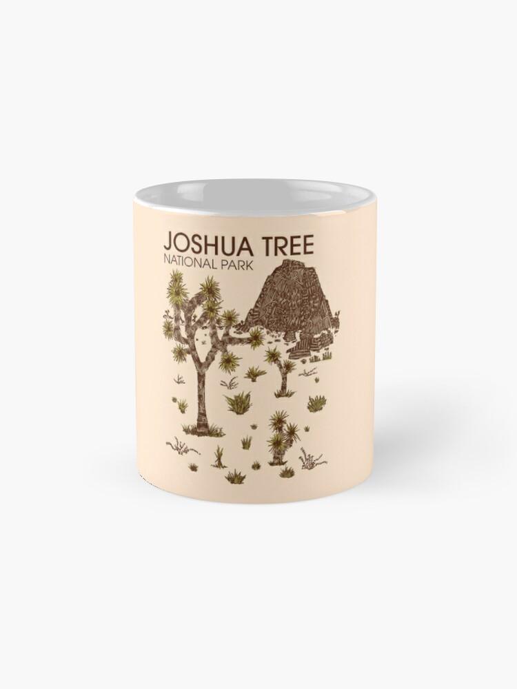 Alternative Ansicht von Joshua-Baum-Nationalpark Tasse (Standard)