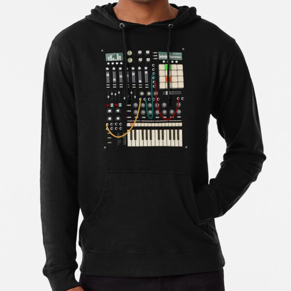 Music Producer and Electronic Musician Lightweight Hoodie