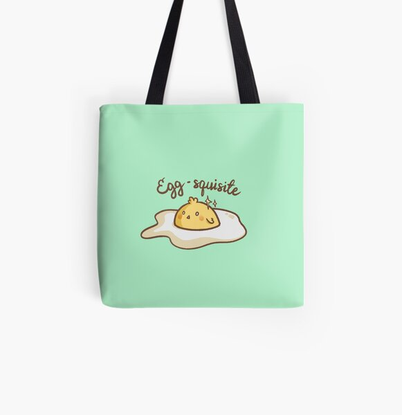 Egg-squisite All Over Print Tote Bag