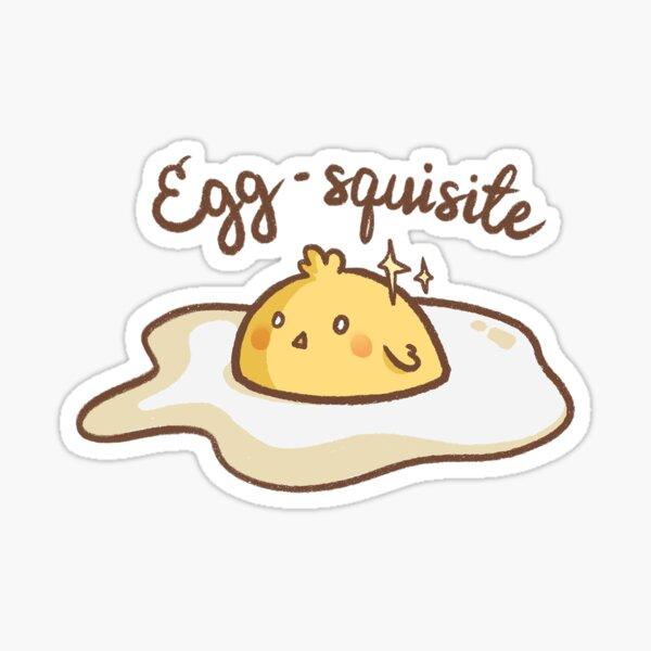 Egg-squisite Sticker