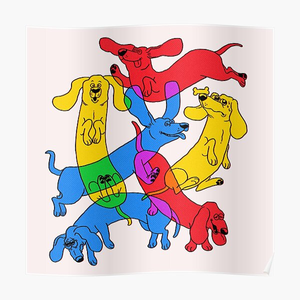 Weenie Liebhaber Poster