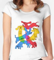 Weenie Lover Fitted Scoop T-Shirt