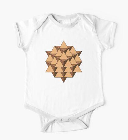 64 Tetrahedron 001 Kids Clothes