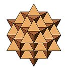 64 Tetrahedron 001 by Rupert Russell