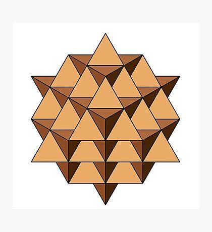 64 Tetrahedron 001 Photographic Print