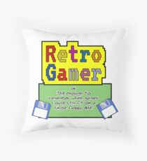 Retro Gamer Dekokissen