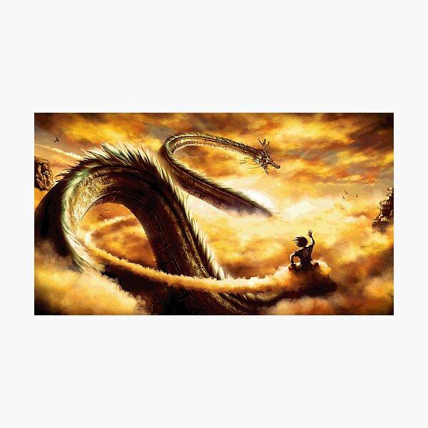 Dragon Ball realistic Photographic Print