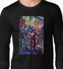 GYMPIE MUSTER-COLLECTION- RICHARD CLAPTON and CHAIN Long Sleeve T-Shirt