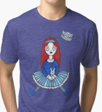 Red Haired Alice (Tee) Tri-blend T-Shirt