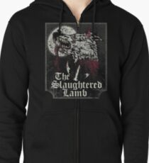 The Slaughtered Lamb  Zipped Hoodie