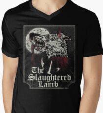 The Slaughtered Lamb  Men's V-Neck T-Shirt