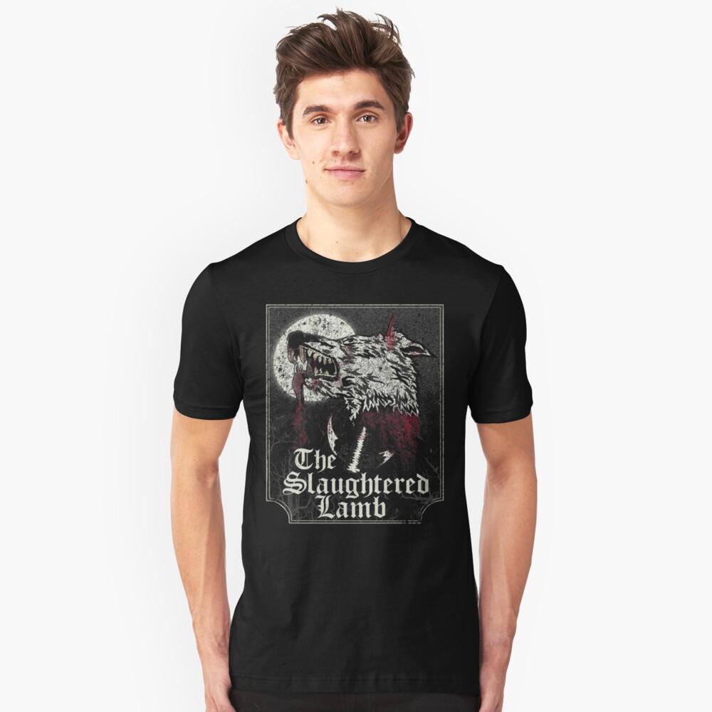 Das geschlachtete Lamm Slim Fit T-Shirt