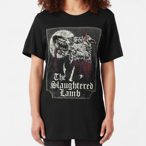 The Slaughtered Lamb  Slim Fit T-Shirt