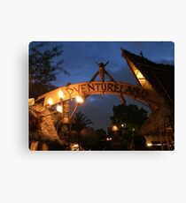 Adventureland Canvas Print
