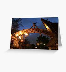 Adventureland Greeting Card
