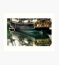 The Friendship and Dinghy Art Print