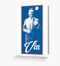 Vin Scully - The Voice of LA Greeting Card