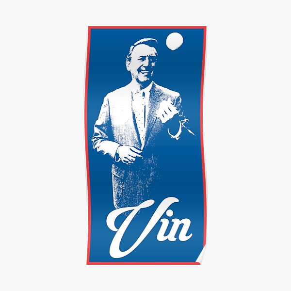 Vin Scully - The Voice of LA Poster