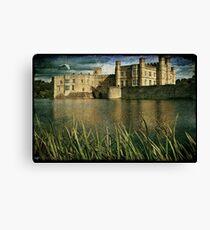Leeds Castle Across the Moat Canvas Print