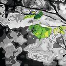 'Green Leaf' by MattCollinsArt