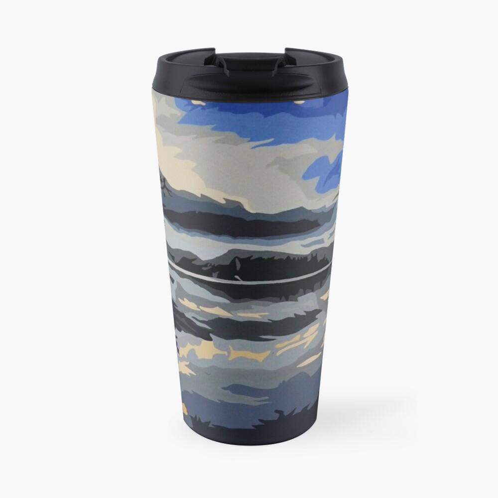 'Northern Night' Travel Mug