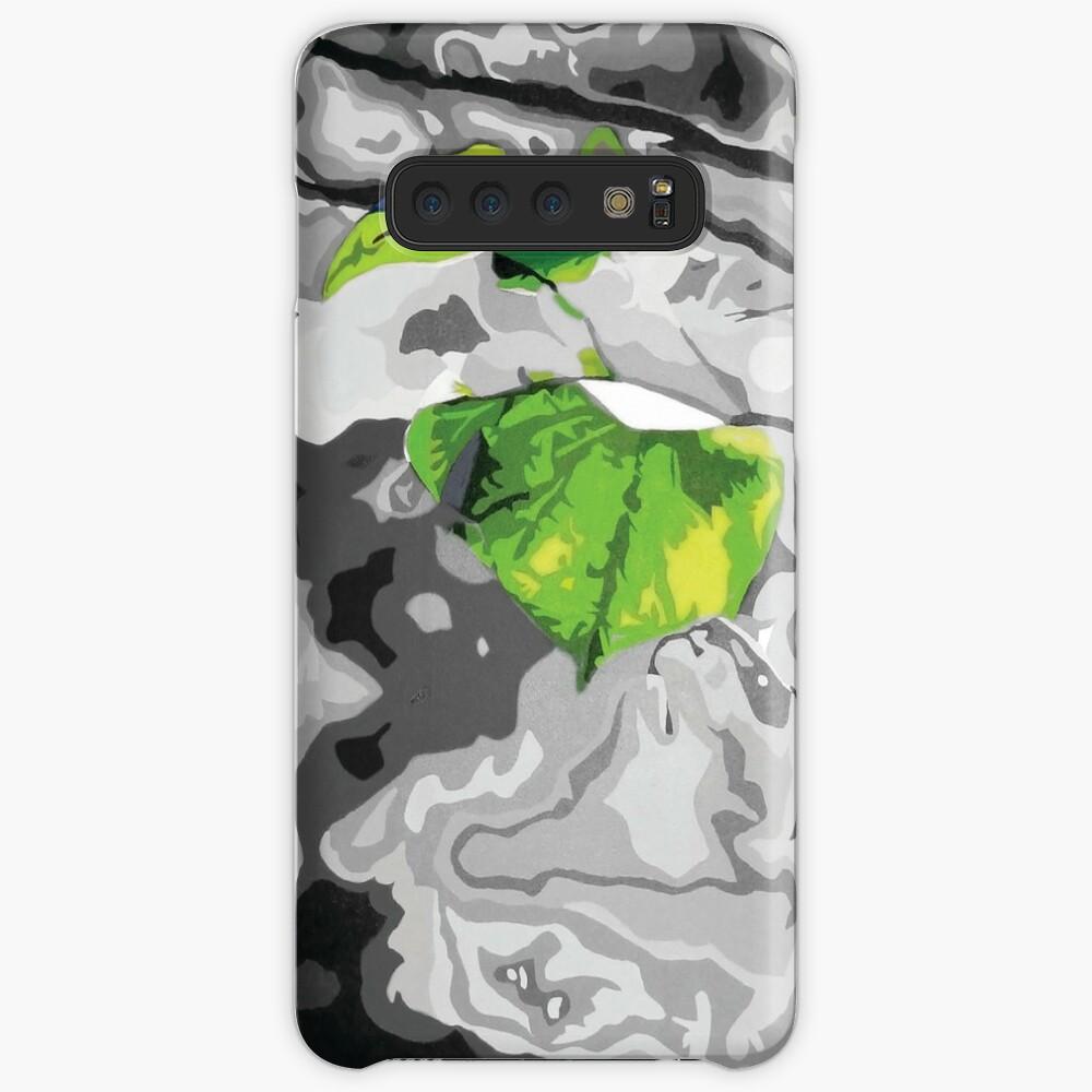 'Green Leaf' Samsung Galaxy Snap Case