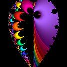 20150123-003-3500 Black Inverted, Mandelbrot by Rupert Russell