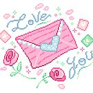 Love Letters Roses by FrogNebula