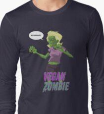 Lady Vegan Zombie Long Sleeve T-Shirt