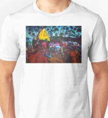 GYMPIE MUSTER - COLLECTION - main stage BADGES of the past Unisex T-Shirt