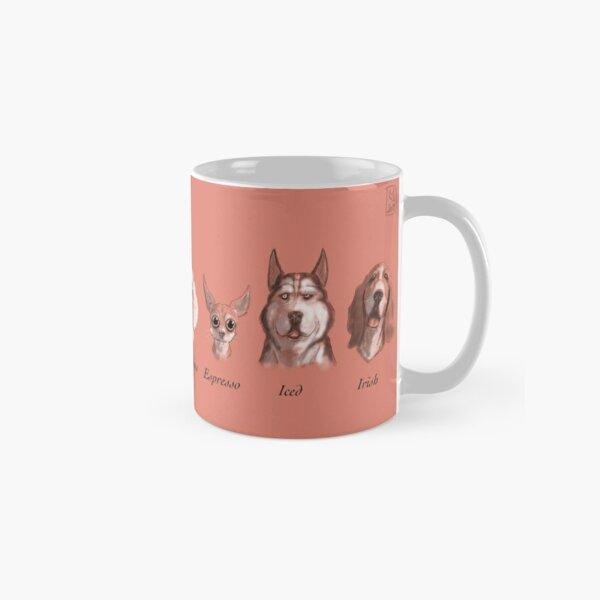 Coffee Dogs (Pink) Classic Mug