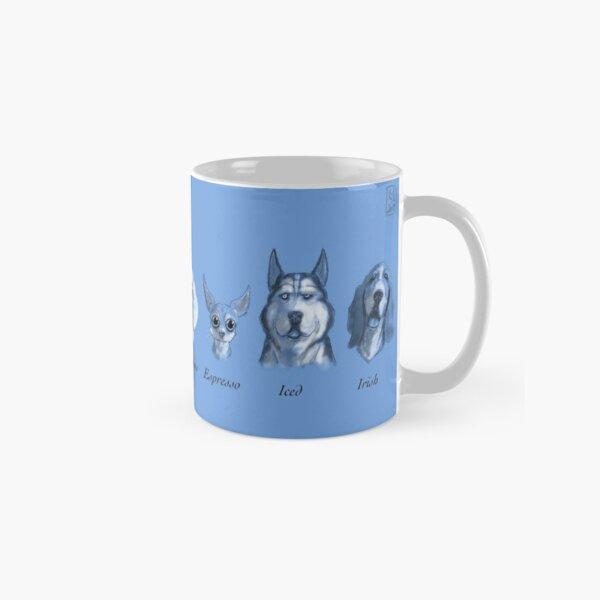 Coffee Dogs (Blue) Classic Mug