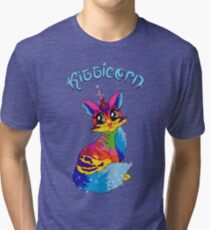 Kitticorn 1 Tri-blend T-Shirt