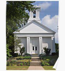 Wickford Rhode Island Church  Poster