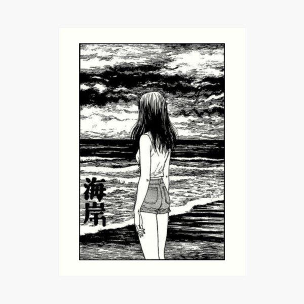 Junji Ito Art Print