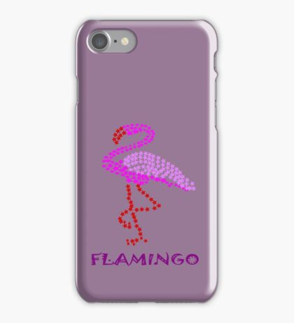 F for flamingo (9662 views) iPhone Case/Skin
