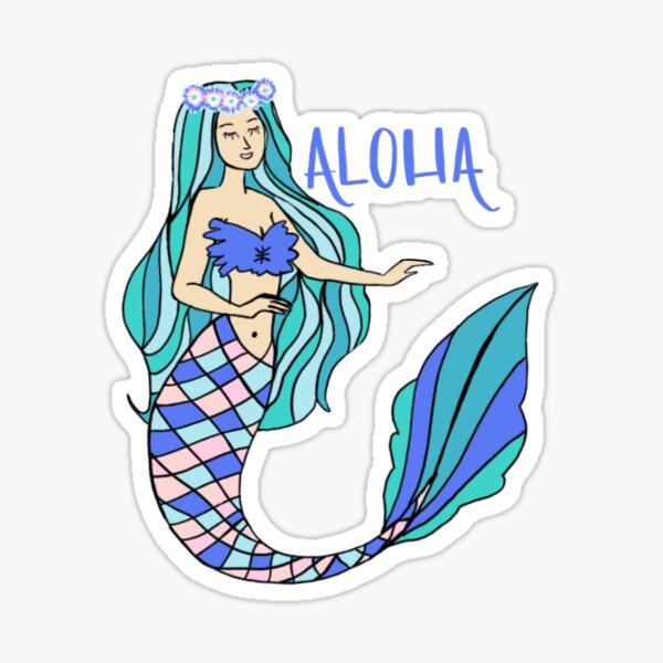 Aloha Babe - A - Rito Sticker