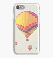 A flock of hot air balloons iPhone Case/Skin