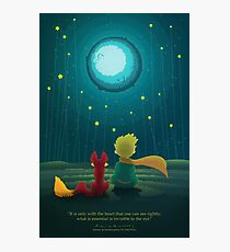 The Little Prince Photographic Print