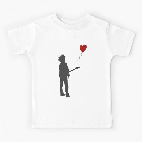 """ROBERT """"THE CURE"""" SMITH X BANKSY Kids T-Shirt"""