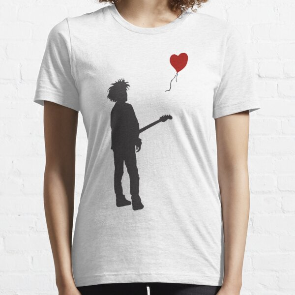 "ROBERT ""THE CURE"" SMITH X BANKSY Essential T-Shirt"