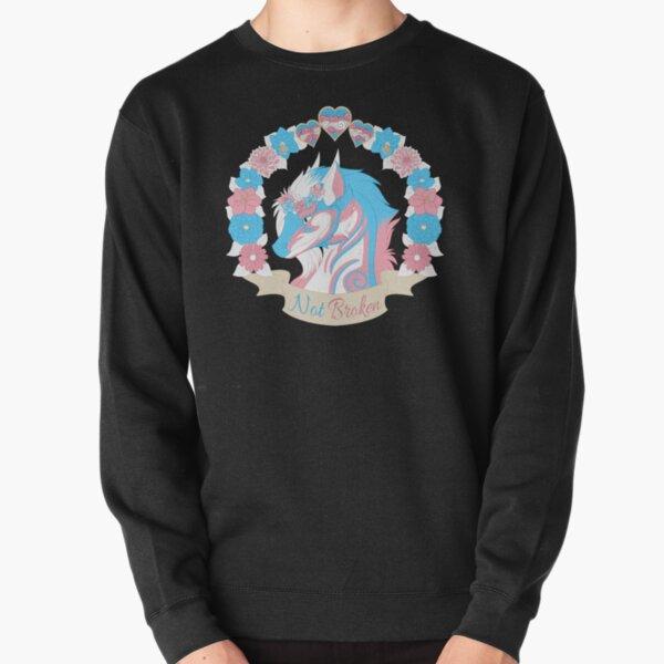 Transgender Pride - Not Broken Pullover Sweatshirt