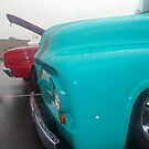 Ford Pickup Blue by Jaimesphotos