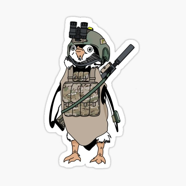 Tactical penguin Sticker