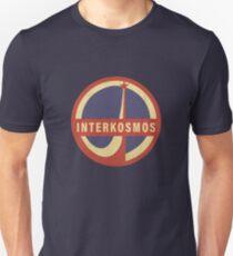 interkosmos sowjetisches Weltraumlogo Slim Fit T-Shirt