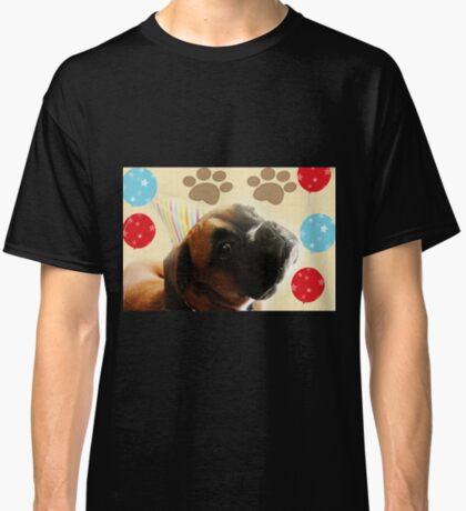 Schauen Sie, wer 1 - Boxer Dog Series ist Classic T-Shirt