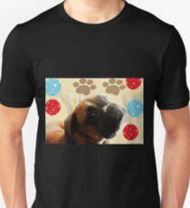 Schauen Sie, wer 1 - Boxer Dog Series ist Slim Fit T-Shirt