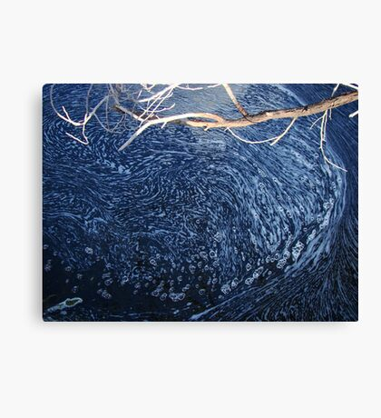 Creation Reflected - Lerderderg River Canvas Print
