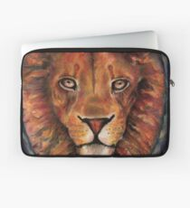 A Lion is the True Nature of a Cat Laptop Sleeve