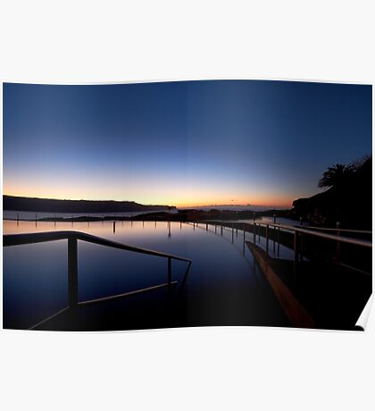 Lonely Sunrise Poster
